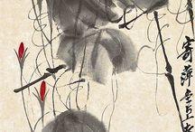 china, japan art