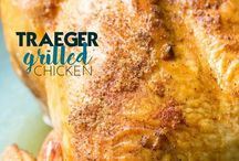 Food-Traeger Grill