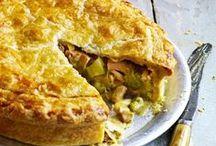Chcken & leak pie
