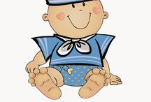 Baby shower clip art boy / Baby shower clip art boy