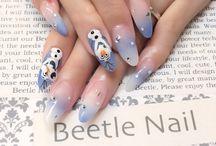 Disney nail / ディズニーネイル