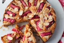 My cake / Rhubarb cakes