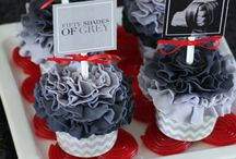 Fifty shades, uun's bridal shower idea