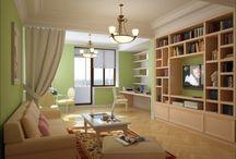 Квартира в Филях / Проект квартиры для сестер-студенток, предпочитающих классический стиль.