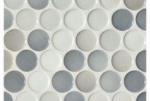 Pennyround tiles