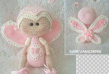 Crochet Bees, Butterflies, Grasshoper, Snails...