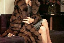 Hat - Fur - Gloves - Pearls / ..... these jewels make a woman look elegant, gorgeous and sometimes even sexy ~no nudity please~