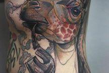 Ace tattoos