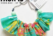 All About Batik / batik handmade necklace bracelets bib
