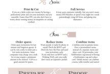 Wedding Infographics / Useful wedding planning i.nformation