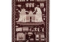 Tkactwo / Tkaniny, dywany, kilimy czyli wszystko to, co twórcy ludowi, rzemieślnicy i przemysł włókienniczy potrafi wytworzyć.
