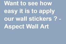 Blogs for Wall Stickers / Aspect Wall Art website blogs