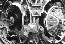 Surreal world of Escher