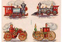 Старые паровозы