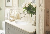 For the Home Bathrooms / If the commode is the man's throne then the rest of the bathroom ought to be the woman's palace.