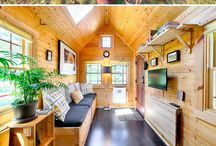Tiny house and living. The best of