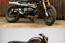 Moped / Ois was mit motorisierten zwei Rädern zum tu hat