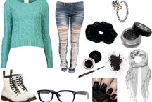 things i made on polyvore / outfits
