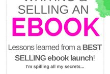 ebooks. / How to create a digital ebook for sale: from solidifying your idea, the technical aspects, sales page and marketing. Create passive income!