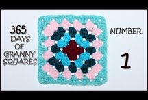 365 Days of Granny Squares / crochet pattern tutorials