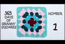 365 Days of Granny Squares / crochet pattern tutorials