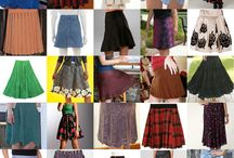 Skirt Project and Pattern Inpiration