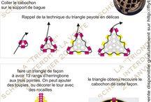 trojúhelníky, hvězdice a jiné šité.... / šité trojúhelníky