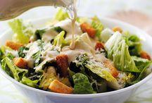 Σαλάτα του Καίσαρα με αντζούγιες / Μια πολύ νόστιμη σαλάτα του Καίσαρα (Ceasar's)