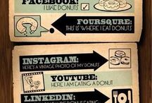 Social media / Social geek stuff