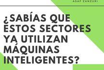 Sabías que estos sectores ya utilizan máquinas inteligentes / Asaf Zanzuri es un empresario con sede en México. ¿Quieres descubrir antes que nadie cómo la tecnología cambiará tu vida? Estás en el lugar apropiado.
