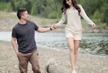 Engagement shots / by Amber Dunn