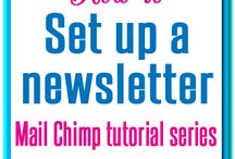Newsletter Tips for Bloggers / Tips for creating a great e-mail newsletter