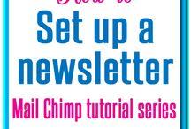 MailChimp / Tutorials, designs, etc to create the perfect newsletter
