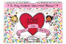 2015 Juicy Lucy Calendars/Diaries / Let the fairies help you organise your life!