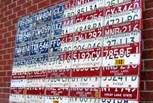 License plates Decor