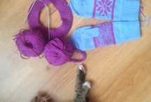 Мое хобби: вязание