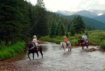 Tumbling River Ranch Horseback Riding
