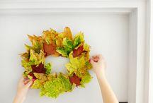 [Home] Autumn decorations