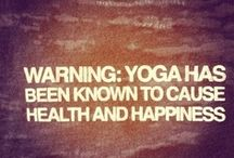 """Yoga / """"Yoga is the the journey of the self, through the self, to the self.""""-The Bhagavad Gita"""