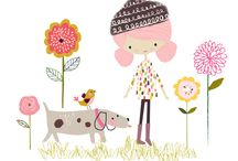 Cute illustrations / Cute lovely illustrations