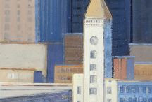 Urbanism / Featuring urban landscapes by SLATE artists Alan Mazzetti and Geoffrey Meredith and guest artists Jeremy Dylan Fukunaga, Belinda Lima, and Lawrence Kushner.  San Ramon Valley Conference Center   3301 Crow Canyon Road, San Ramon, CA  October 19, 2017 - January 11, 2018   Hours: Open 24 hours, 7 days a week.
