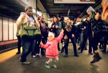 Flash Mobs / We love a good flash mob!