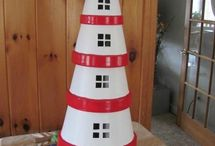 Lighthouse for garden