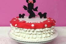 Minnie and Micky Mouse Cake/ Torten