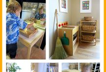 Montessori Home / How to implement Montessori practices in your home.