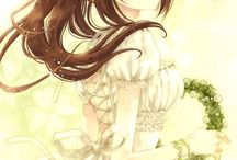 1 - アニまんが / Lindas ilustrações de mangá