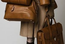 beige,camel,brown leather bag