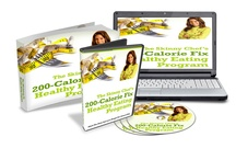 200-Calorie-Fix Healthy Eating Plan / Created by professional chef and healthy cooking expert Jennifer Iserloh, this healthy eating plan gives you the best of both worlds – the tempting taste of comfort foods with highly nutritious, low-cal ingredients. It's the recipe to help you feel satisfied while losing weight at the same time!