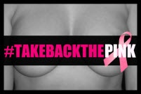Super Breast Sunday:   TakeBackthePINK / We are still rooting for an end to breast cancer and making women's health care accessible to everyone! 
