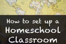 Home school class setup